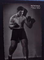 Nowyasz. Champion De France 1947. Pas Courante. - Boxe