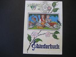 Deutschland BRD Maxicard 1987- FDC Maxicard - 125 Jahre Deutscher Sängerbund - Maximumkarten (MC)