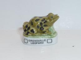 FEVE GRENOUILLES ET TORTUES, LA GRENOUILLE LEOPARD  01 - Tiere