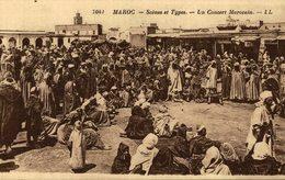 CPA Maroc - Scènes Et Types - Un Concert Marocain - Marruecos
