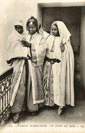 FEMME MAROCAINE ET TYPE DU SUD - Marruecos