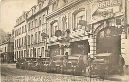 D-18-349 : BOULOGNE-SUR-MER. AUTOMOBILE. GARAGE CENTRAL  TETARD ET DE GENLIS RUE NATIONALE - Boulogne Sur Mer