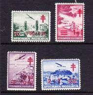 Yugoslavia SG 446-449 1940 Anti T.B. Mint Hinged Set - Yugoslavia