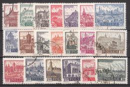 1960.11.25., 1960.12.28. Historic Polish Cities Part 1 + Part 2 USED - 1944-.... Republic