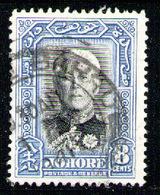 JOHORE 1940 - Set Used - Johore