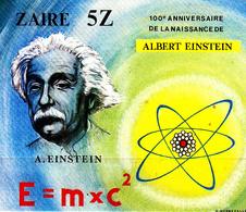 Zaïre Bf 39 Albert Einstein En Non Dentelé - Albert Einstein