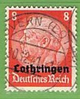 MiNr.5 O Deutschland Besetzte Gebiete II.WK Lothringen - Besetzungen 1938-45