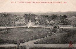 TONKIN - 485 D. -  SONTAY - Porte Sud Dans La Citadelle Et Collines De Tong. - Vietnam