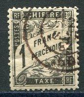 """FRANCE TAXE N°22 OBLITERE FAUX POUR """" REMPLIR """" UNE CASE - Impuestos"""