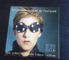 Printemps Lesbien De Toulouse :  Catalogue  (15 X 15 Cm) édition 2018 (Bagdam, Espace Lesbien) - Non Classés