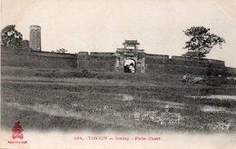 TONKIN - 484. SONTAY. - Porte Ouest. - Vietnam