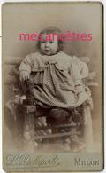 CDV En 1902-Jean DELAMOTTE Né Melun Fils D'Henri-Maison Darnay L. Delaporte Succ à Melun - Foto