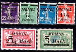 Memel-014 - Emissione 1922 (+) LH - Senza Difetti Occulti.) - Memel (1920-1924)