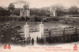 TONKIN. - 485. - SONTAY. Porte Est, Citadelle - Vietnam