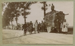 Guerre De 1914-18 . Aisne . Un Convoi . Atelier De C. A. - Guerra, Militari