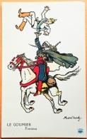 "CPA Illustrateur MASS'BEUF 1914-18  ""LE GOUMIER Fantasia "" Imp. Guiraud Marseille N° - Oorlog 1914-18"