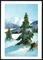B3540 - Künstlerkarte - Winterlandschaft - Sonstige