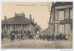CPA AIX EN OTHE - Rue Neuve - Belle Animation - 29/04/1926 - France