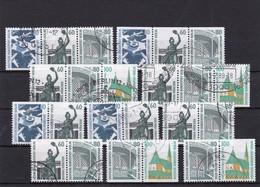 Berlin, ZD-Kombinationen W89-W98, Gest. Mi. 464,- Euro (T 5251) - [5] Berlin