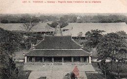 TONKIN - 485. C.  SONTAY. - Pagode Dans L'intérieur De La Citadelle - Vietnam