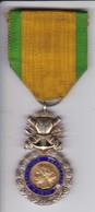 MEDALLA ORIGINAL DE LA REPUBLIQUE FRANÇAISE DEL AÑO 1870 - VALEUR ET DISCIPLINE - Medallas Y Condecoraciones