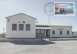 Carte  Maximum  1er  Jour   T.A.A.F   Agence  Postale  De  KERGUELEN  2004 - Poste