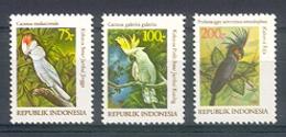 Naa1096 VOGELS BIRDS PAPEGAAI PARROT VÖGEL AVES OISEAUX INDONESIA 1981 PF/MNH - Indonesië