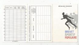 Brevet Sportif Populaire , 6 Pages , 1969 , Maine Et Loire , Frais Fr 1.45 E - Vecchi Documenti