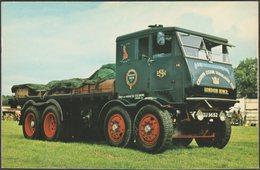 Sentinel S8 8-Wheeler Steam Wagon - ETW Dennis Postcard - Trucks, Vans &  Lorries
