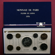 COFFRET FRANCE 1976 FDC OFFICIEL DE LA MONNAIE DE PARIS Avec 50 Francs En Argent - France