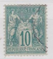 FRANCE YT N° 65 - 1876-1878 Sage (Type I)