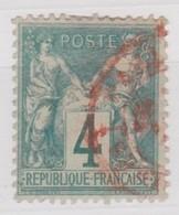 FRANCE YT N° 63 - 1876-1878 Sage (Type I)