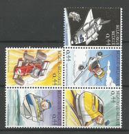 TP DE BELGIQUE N° 3368/72  NEUFS SANS  CHARNIERE - Unused Stamps