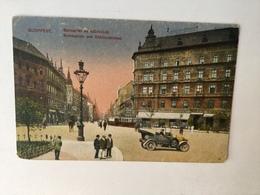 AK  HUNGARY   BUDAPEST  TRAM STRASSEBAHN - Ungarn