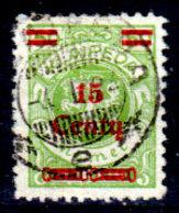 Memel-037 - Emissione 1923 (o) Used - Senza Difetti Occulti. - Memel (1920-1924)