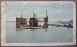USA.LOUISANA.MAMMOTH FLOATING DRY-DOCK.ALGIERS.CIRCULE 1906. - Etats-Unis