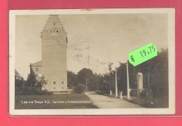 Laa Um  1930  Speicher Und SCHUBERT Denkmal  Mit Zensurstempel - Laa An Der Thaya
