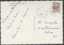 Tarn Et Garonne:  CàD Tireté MIRAMONT-DE-QUERCY De 1966 Sur CP De ST PIERRE NAZAC - Marcophilie (Lettres)