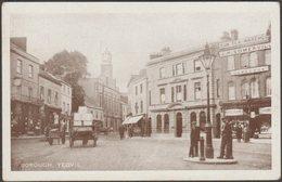 Borough, Yeovil, Somerset, C.1905-10 - Bowditch Postcard - England