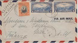 Haiti Lettre De 1940 Pour La France Par Clipper Via Lisbonne - Haïti