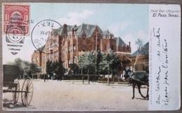 USA.TEXAS.EL PASO.HOTEL DIEU.CIRCULE 1910.BON ETAT. - El Paso