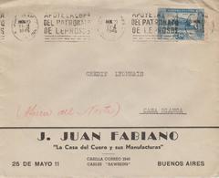 Argentine Lettre De 1945 Pour Le Maroc - Briefe U. Dokumente