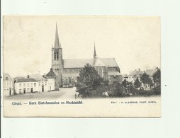 Geel - Kerk Sint-Amandus En Marktzicht, Edit Sledsens, Zeldzame Uitgave - Geel