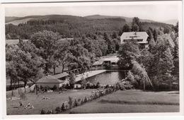 Hinterzarten - Schwimmbad Hotel 'Adler' / Hochschwarzwald - (1955) - Hinterzarten