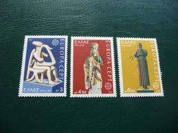 TIMBRES   GRECE    EUROPA    1974   N  1144 A 1146     COTE  2,00  EUROS   NEUFS  LUXE** - Europa-CEPT