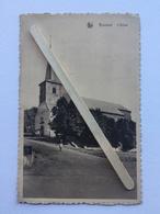 GENAPPE-BOUSVAL» L'ÉGLISE « Panorama,animée  (Édit A.Roch-Seret,Bousval)NELS. - Genappe