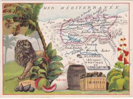 Chromo - Le Fil Géographique - Algérie, Province De Constantine - Other