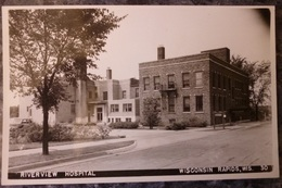 USA.WISCONSIN RAPIDS.RIVERVIEW HOSPITAL.PHOTO VERITABLE.NON CIRCULE.TBE. - Etats-Unis