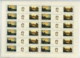 SOVIET UNION 1991 Artists' Anniversaries Complete Sheets With 12 Sets MNH / **. Michel 6465-68 - 1923-1991 USSR