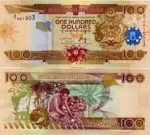 SOLOMON IS.         100 Dollars       P-30       ND (2004)       UNC  [ Sign. 8 ] - Salomons